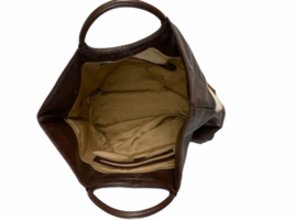 Leather Suede Cowhide Handcrafted Lot - Belt Handbag Bag Purse Clutch Stocking image 6