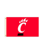 University of Cincinnati - 3' x 5' NCAA Polyester Flag - $27.60