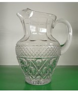 Imperial Glass CAPE COD 72-oz Pitcher with Ice Lip Elegant Crystal Retired - $94.00