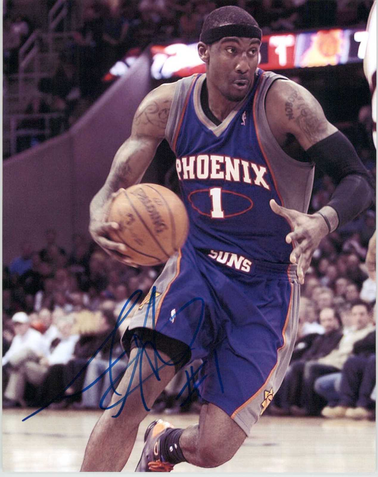 Primary image for Amar'e Stoudemire Signed Autographed Glossy 8x10 Photo - Phoenix Suns