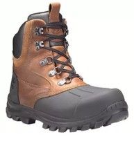 TIMBERLAND Men's TB0A185T CHILLBERG Brown Leather Waterproof Boots. SZ:9M - $158.90 CAD