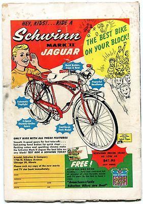 BIG TOWN #47 1957-DC COMICS-TV SERIES-WAITER WITH GUN G/VG