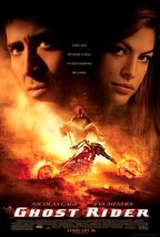 GHOST RIDER MOVIE POSTER NICOLAS CAGE 2S GLOSSY EVA MENDES 27X40 - $25.00