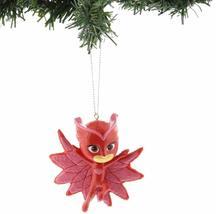 Set of 2 Kurt S. Adler PJ Mask Owlette Catboy Christmas Tree Blow Mold Ornaments image 3