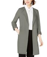 Bar III Women's Wing-Lapel Topper Jacket - Grey - Size: Medium - $59.99