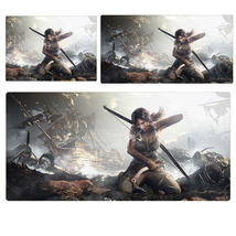 Rise Of Tomb Raider Snowstorm Extended Mouse Pad Computer Desk Pad Three... - $265,04 MXN+