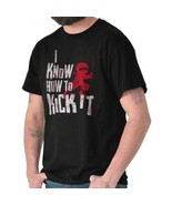 Know How Kick Funny Shirt | Ninja Turtle Naruto Baby Clothes T Shirt - $7.99+