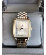 NEW Michele MWW06X000027 Mid Size Deco Two Tone Stainless Steel Diamond ... - $583.10