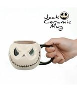 LOULONG® JACK Ceramic Anime Horrible Skull Mug The Nightmare Before Chri... - $27.80