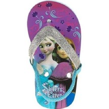 Disney Frozen  Toddler Girl's  Beach Flip Flops Sandals Various  Sizes  NWT - $8.39