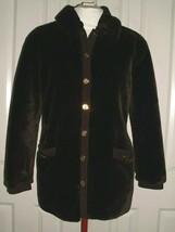 ST. JOHN COLLECTION by MARIE GRAY WOMEN'S PLUSH FAUX FUR COAT SIZE S - M - $179.99