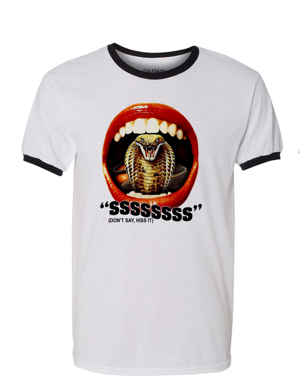 t shirt retro vintage horror movie cult film snake movie tee for sale online graphic tees store
