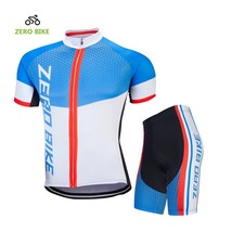 ZEROBIKE Men's Polyester Short Sleeve Cycling Clothing Breathable Cyclin... - $29.69