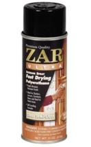 ZAR 33007 11 oz Clear Semi Gloss Fast Drying Ultra Interior Polyurethane Spray