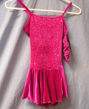 Mondor Model 2919 Girls Skating Dress - Fuchsia - Size Child YJ - $46.74
