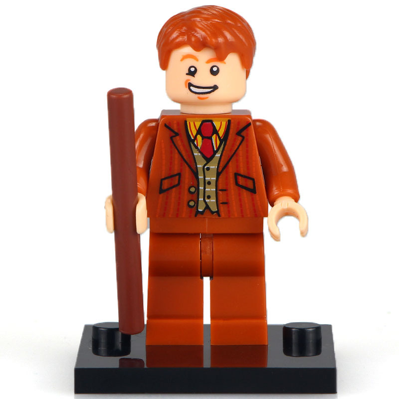 Unbranded Fred Weasley Minifigure Harry Potter Fits Lego