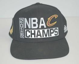 Cleveland Cavaliers 2016 NBA Champs Adidas Adjustable Snapback Hat  - $24.74