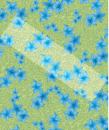 Blue Flower Pattern3-Digital ClipArt-Candy-Gift Tag-Notebook-Scrapbook-g... - $3.00