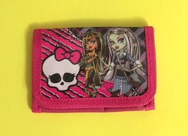 Monster High Girl's Wallet—Disney, Hello Kitty, Spongebob and More Available Too