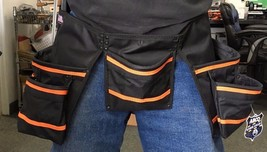Abco 9108-6 Contractor & Carpenter Tool Belt 11 Pocket USA - $14.85
