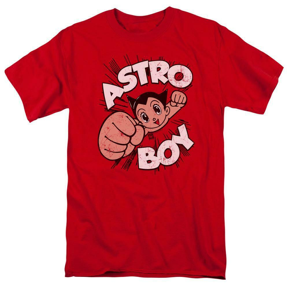 Astro Boy t-shirt New Mighty Atom Retro 80s TV cartoon graphic tee ABOY103