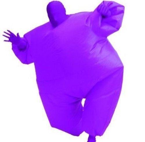 Costume Agente Adulto Chub Abito Blow-Up Gonfiabile Colore Corpo Pieno Tuta