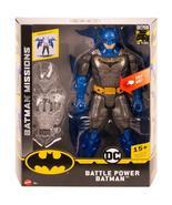 "DC Comics Batman Missions Battle Power Batman 12"" figure - $18.95"