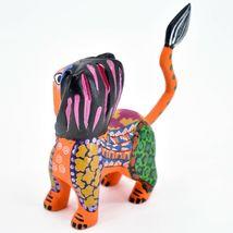 Handmade Alebrijes Oaxacan Copal Wood Carving Folk Art Lion Figurine image 3