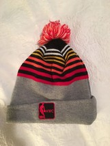 NEW ERA   MIAMI HEAT  STOCKING CAP   NBA  HWC    POM POM   EUC - $12.60