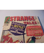 STRANGE TALES # 123 * Aug. 1964 * Torch & Thing! Intro: BEETLE! Dr. Stra... - $20.00
