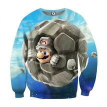Super Mario Rock Mushroom Upgrade Cool Gaming Sweatshirt - $39.99
