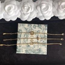 Auth Christian Dior SET DIO(R)EVOLUTION J'ADIOR TRIPLE CRYSTAL GOLD BRACELET image 2