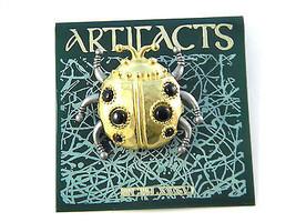 JJ Jonette Bug Insect Figural Brooch Vintage Pin - $13.49