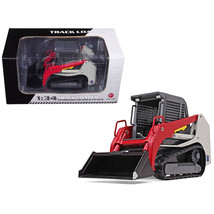 Track Loader Gray/Red 1/34 Diecast Model Car by First Gear 10-4113 - $46.99