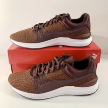 NEW! Women's Puma Adela Knit Graphic Casual Shoes Size US 9 Sneakers Win... - $45.82