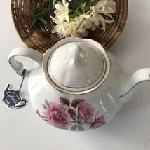Lefton Pink Floral Tea Pot - $36.63