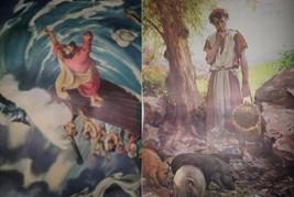 Vintage Religious Posters Church 50's 60's Jesus Bible Stories 18x24 15pcs  image 2