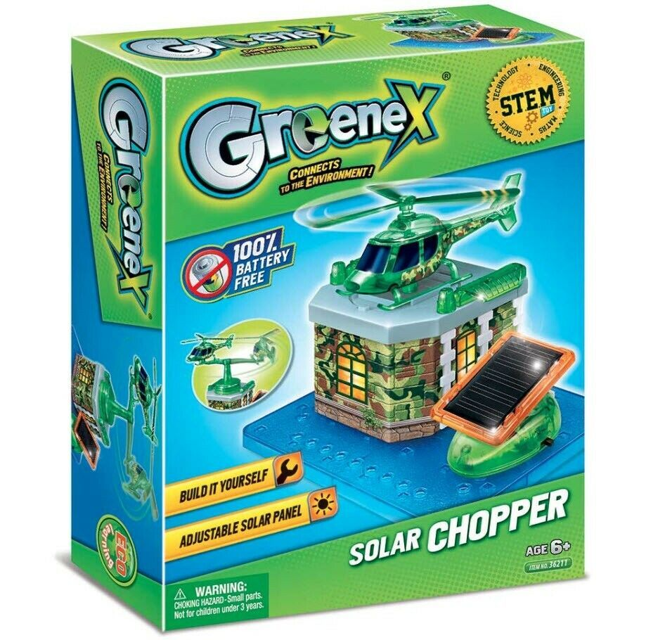 Solar Copter, Army Copter, Build Your Own, Eco-Solar Science Learning