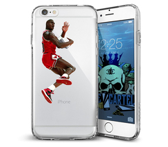 Michael Jordan iPhone 6 Plus Phone Case Dunking Design 2 - $14.99