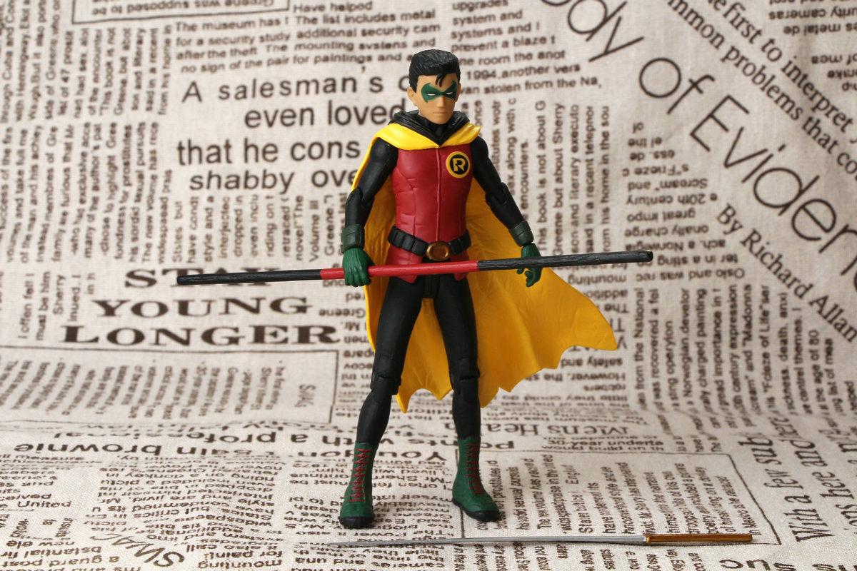 "Damian wayne Robin 6"" figure DC Direct Batman collectibles loose figure"