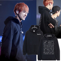 Kpop EXO Chanyeol Embroidery Sweatershirt Bigbang G-Dragon Cap Hoodie Sw... - $14.39
