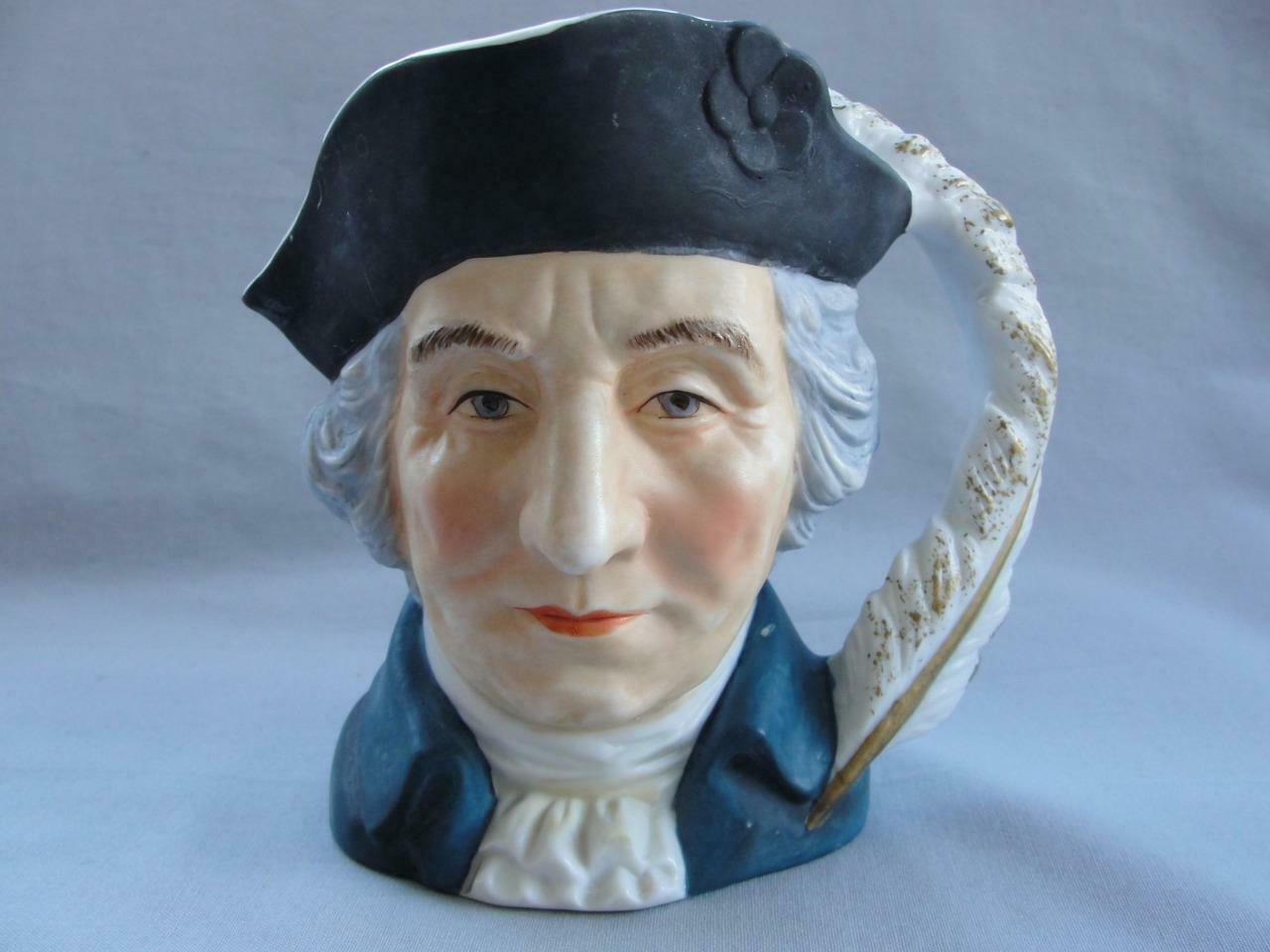 Primary image for Vintage Lefton China George Washington Character Creamer or Pitcher KW2326