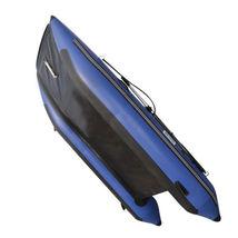BRIS 11 ft Inflatable Catamaran Inflatable Boat Dinghy Mini Cat Boat Blue  image 12