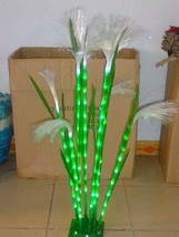 3.3FT 8 Pcs LED Reed Green Light Christmas Holiday Outdoor Indoor Home Decor NEW - $138.59