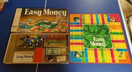 Board Game EASY MONEY Complete Milton Bradley Monopoly-type Banking 1974 - $11.88