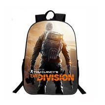 Tom Clancy's The Division Backpack Schoolbag Bookbag Daypack 3D C - $29.99