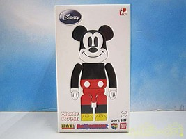 MEDICOM TOY Superalloy BE@RBRIC Mickey Mouse 200% F/S  from JP in good condition - $1,173.73