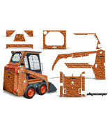 Graphics Kit Decal Wrap For Bobcat Skidsteer Mini Loader Skid Steer DIGI... - $395.95