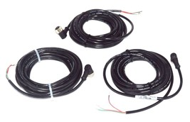 LOT OF 3 NEW BANNER 26847 MICRO-STYLE QUICK DISCONNECT CABLES MQDC-315RA