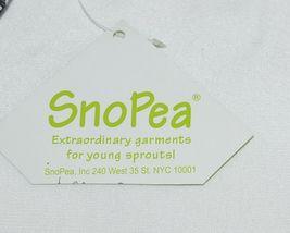 Snopea 3 Piece Outfit Vest Shirt Pants Black White Velour Size 9 Months image 10